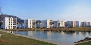 Siedlungslandschaft: Köniz BE, Wakkerpreis 2012 (Foto: Barbara Marty).